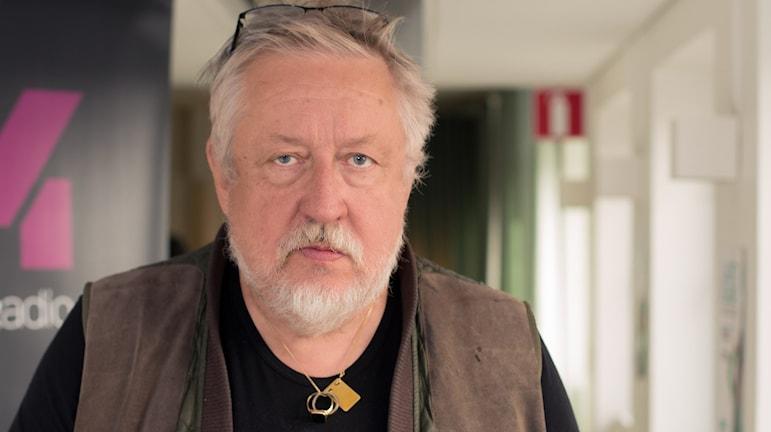 Leif G W persson. Foto: Åsa Stöckel/Sveriges Radio