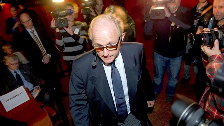 Один из главных фигурантов дела, в прошлом любимец шведских СМИ, Матс Квиберг. Фото: Fredrik Sandberg/TT