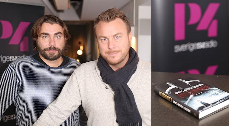 Mathias och Jonas Karlsson. Foto: Åsa Stöckel/Sveriges Radio