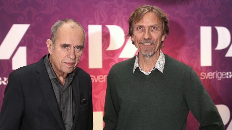 Jörn Donner och Erik Blix. Foto: Åsa Stöckel/Svergies Radio