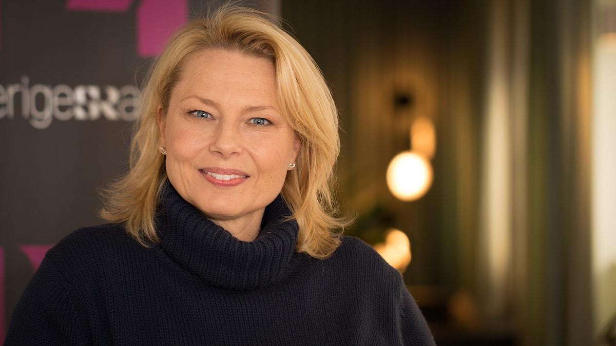 Helena Bergström. Foto: Åsa Stöckel/Sveriges Radio