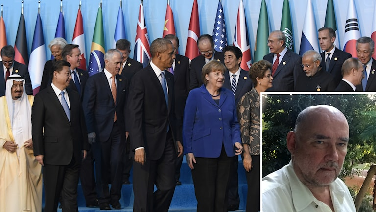 G20-möte i Turkiet. Foto: AP Photo/Susan Walsh/TT & Sveriges Radio