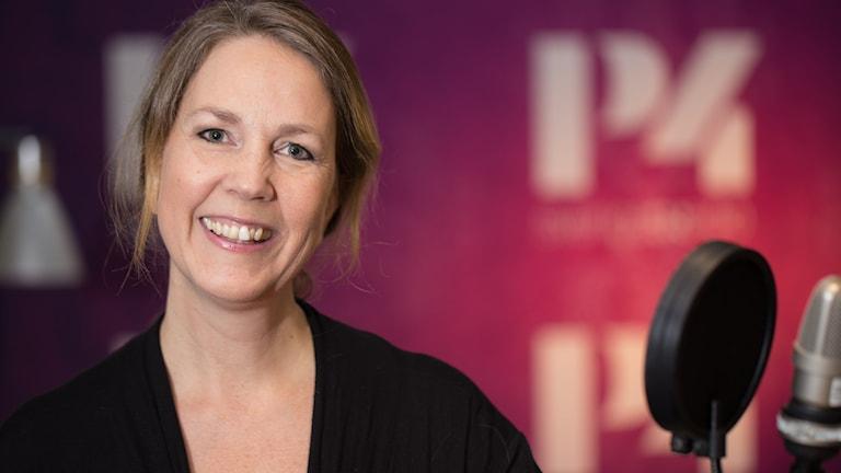 Helen Bjurberg. Foto: Åsa Stöckel/Sveriges Radio
