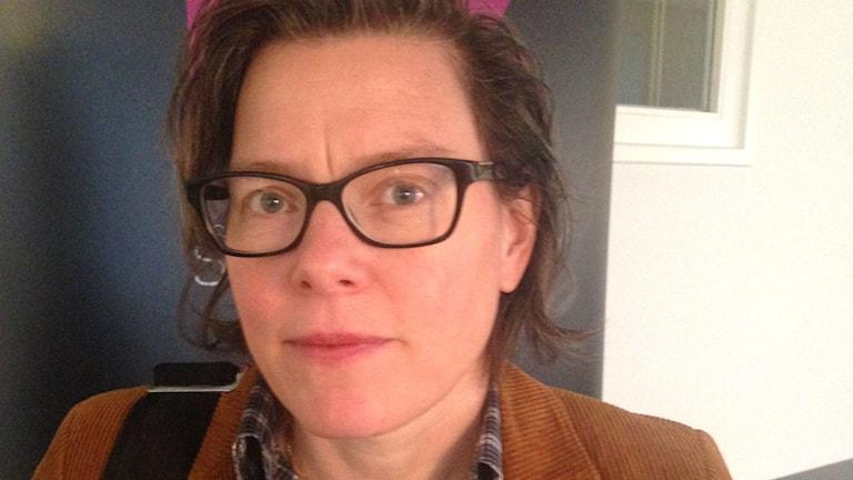 Lena Andersson. Foto: Catarina Gustafsson/SR