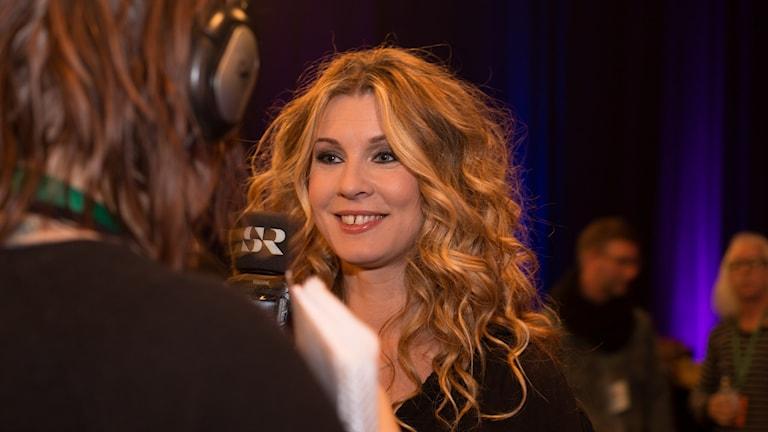 Pernilla Andersson vann Musikplats Stockholms jullåtstest 2016.