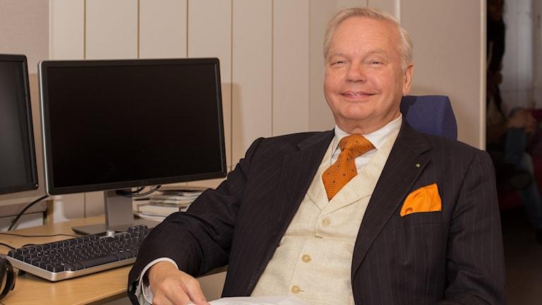 Carl Jan Granqvist. Foto: Åsa Stöckel/Sveriges Radio