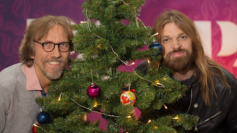Erik Blix och Carl-Einar Häckner. Foto: Åsa Stöckel/Sveriges Radio