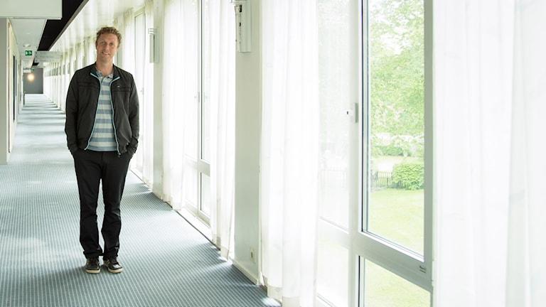 Klas Hallberg. Foto: Åsa Stöckel/Sveriges Radio