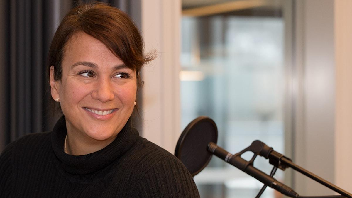 Alexandra Zazzi. Foto: Åsa Stöckel/Sveriges Radio
