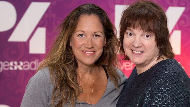 Renée Nyberg och Lotta Bromé. Foto: Åsa Stöckel/Sveriges Radio.