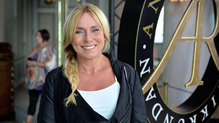 Anne Lundberg. Foto: Carl-Johan Söder/SVT