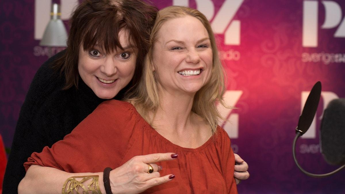 Malin Levanon och Lotta Bromé. Foto: Åsa Stöckel/Sveriges Radio