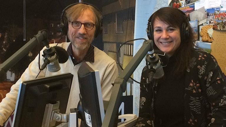 Det är kul med sallader! Foto: Ylva Carlsson/Sveriges Radio