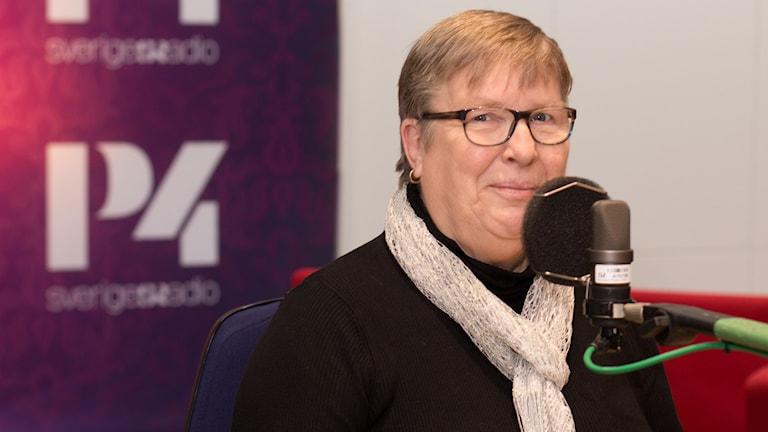 Kari Rosvall. Foto: ÅSa Stöckel/Sveriges Radio