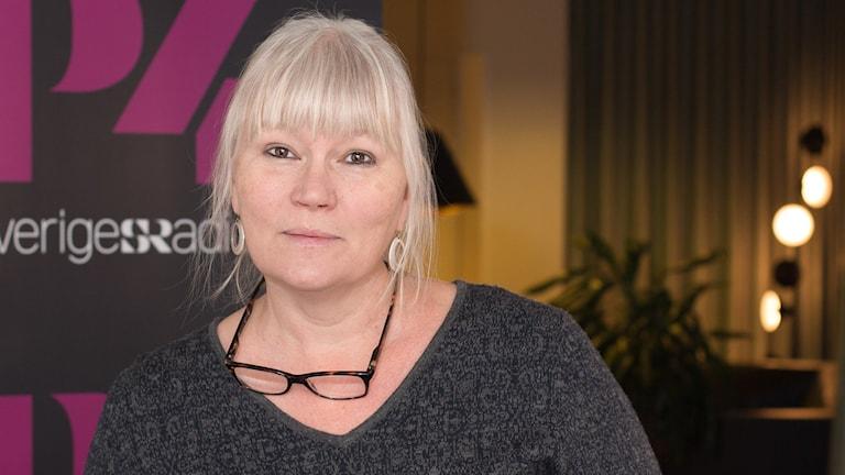Anna-Lena Lodenius. Foto: Åsa Stöckel/Sveriges Radio