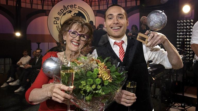 Jesper Rönndahl och Elisabet Höglund upprepade segern från förra året.