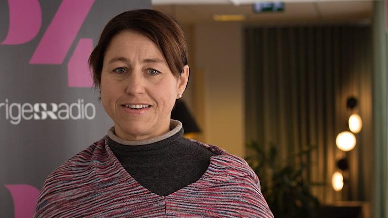 Hanne Kjöller. Foto: Åsa Stöckel/Sveriges Radio