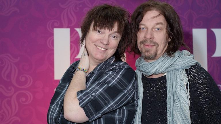 Lotta bromé och Bob Hansson. Foto: Åsa Stöckel/Sveriges Radio