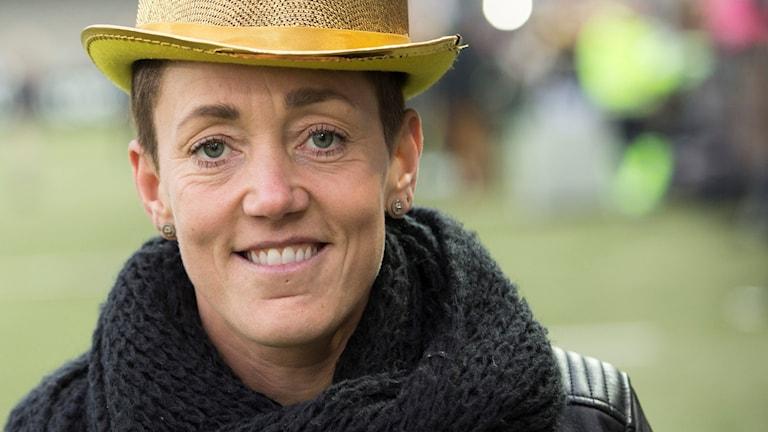 Therese Sjögran. Foto: Andreas Hillergren/TT