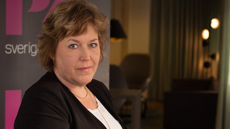 Mari Schaub. Foto: Åsa Stöckel/Sveriges Radio.