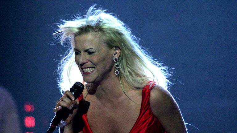 Josefin Nilsson i Melodifestivalen 2005