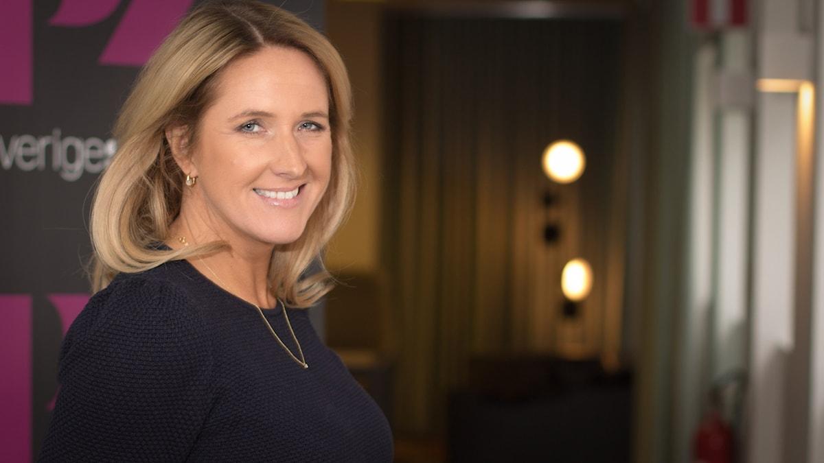 Denise Rudberg. Foto: Åsa Stöckel/Sveriges Radio