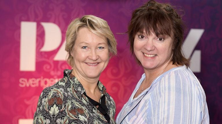 Cecilia Nilsson och Lotta Bromé. Foto: Åsa Stöckel/Sveriges Radio
