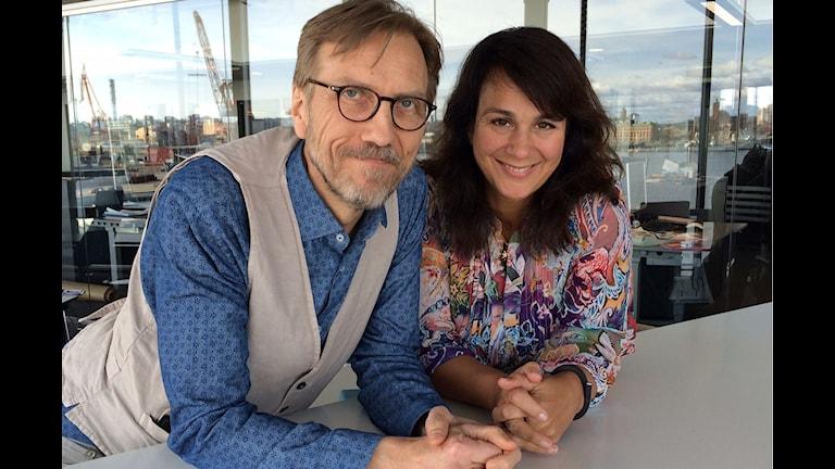 Erik Blic och Alexandra Zazzi