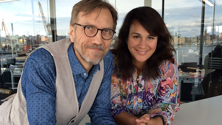 Erik Blix och Alexandra Zazzi