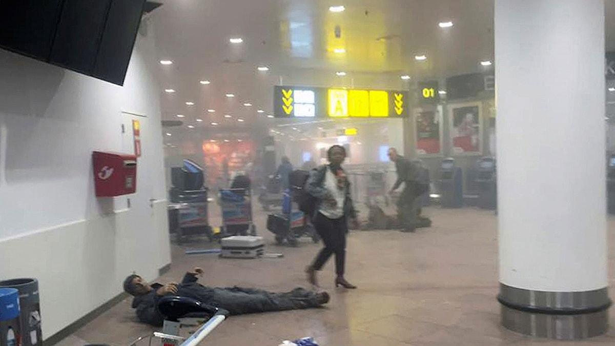 Flygplatssen i Bryssel