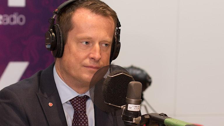 Anders Ygeman. Foto: Åsa Stöckel/Sveriges Radio.