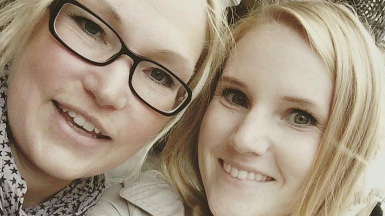 Tone Ögaard och hennes mamma Pia.