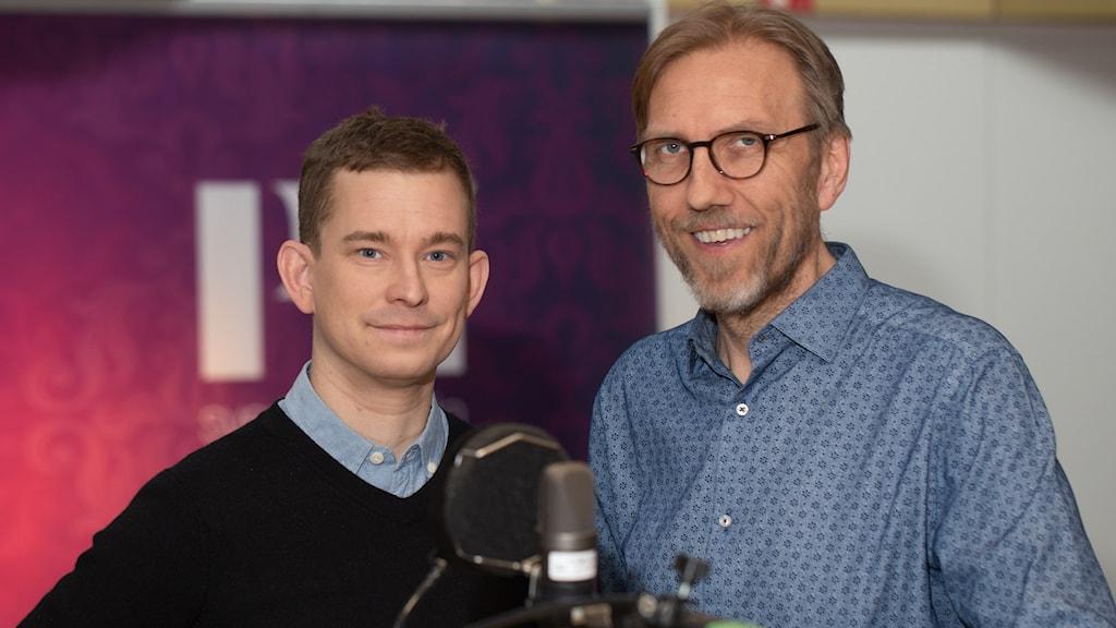 Erik Niva. Foto: Åsa Stöckel/ Sveriges Radio