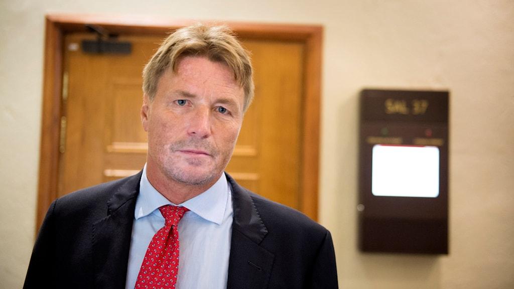 Thomas Bodström är dagens gäst i P4 Extra