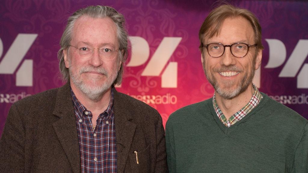 Niklas Rådström och Erik Blix. Foto: Åsa Stöckel/Sveriges Radio.