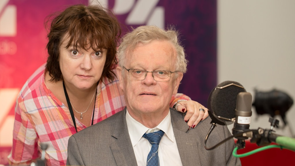 Björn Eriksson och Lotta Bromé. Foto: Åsa Stöckel/Sveriges Radio