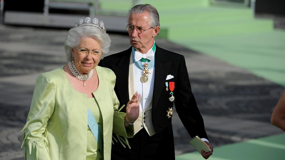 Arkivbild. Prinsessan Christina fru Magnuson och Tord Magnuson.