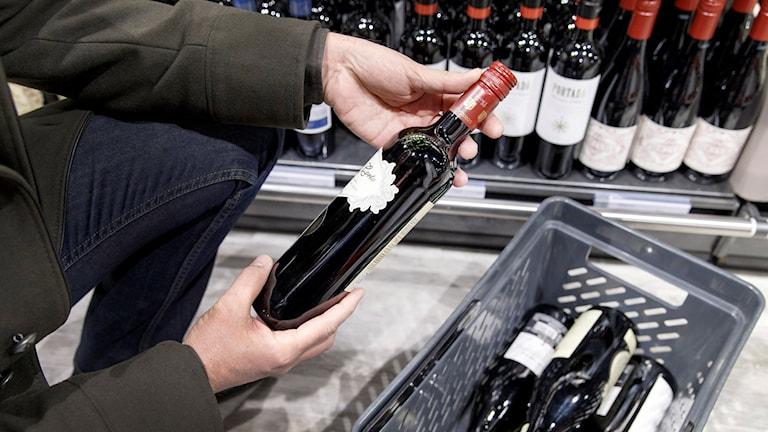 Köpa vin på Systemet