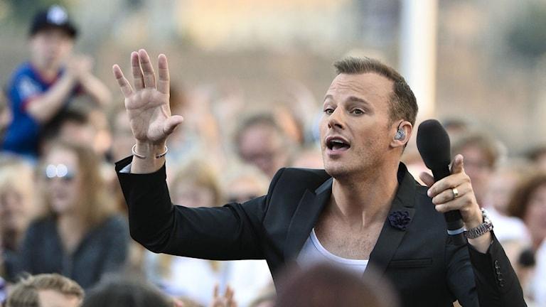 Sångaren Magnus Carlsson