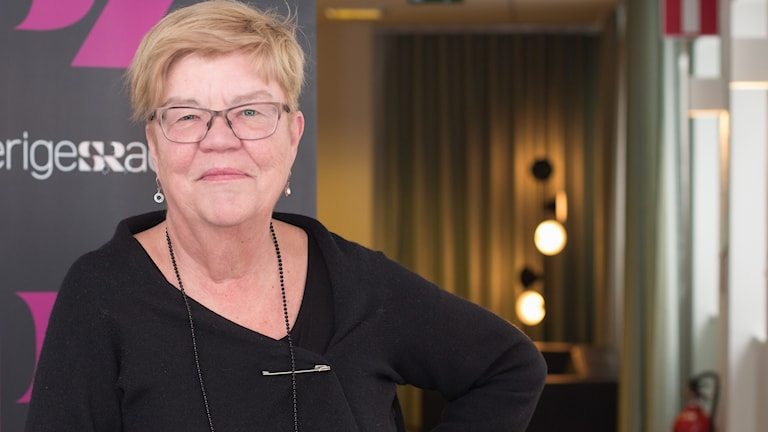 Lena Mellin. Foto: Åsa Stöckel/Sveriges Radio