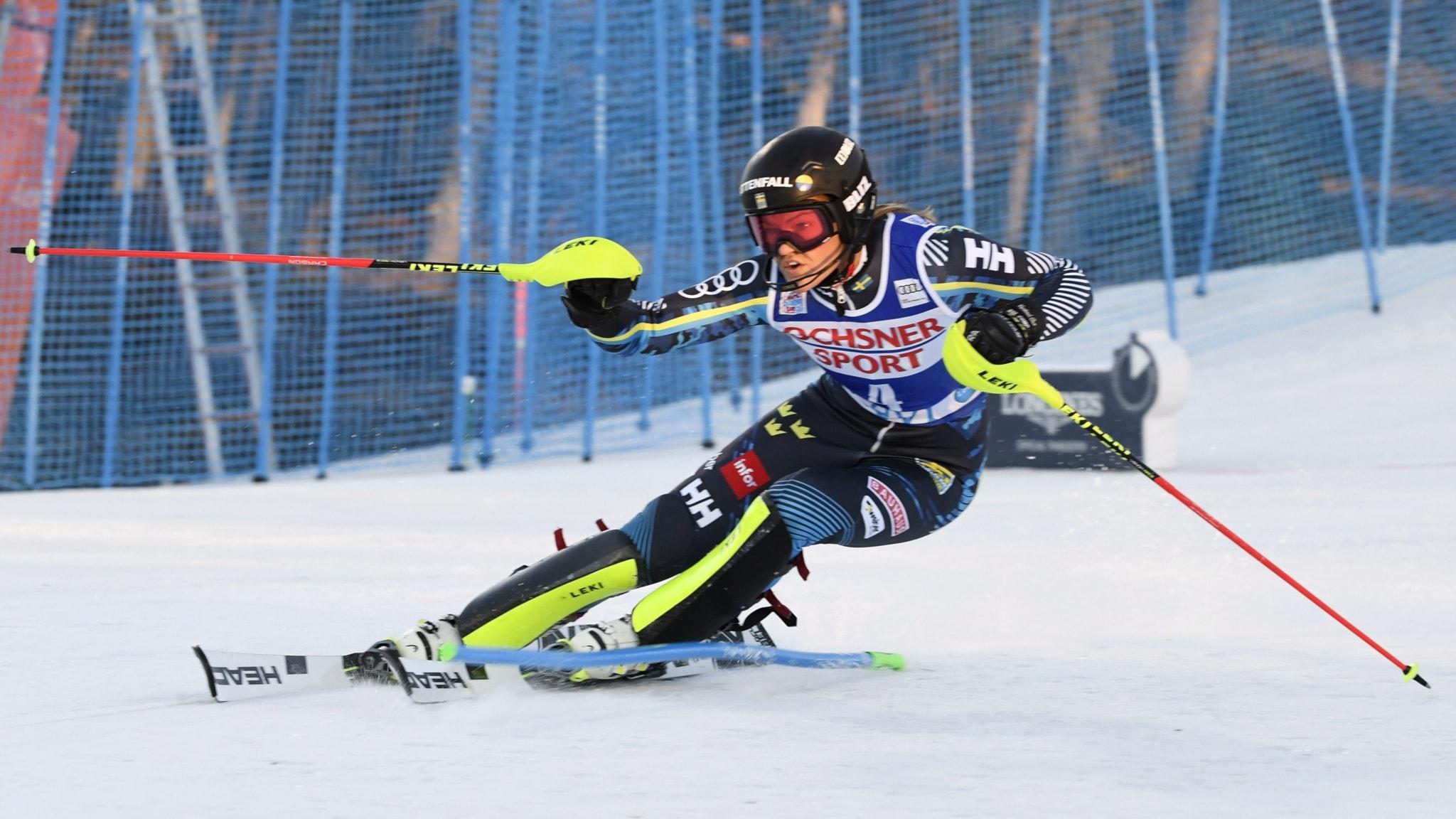 Världscuppremiär i slalom
