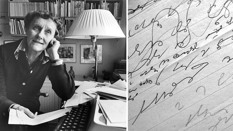 Astrid Lindgrens stenografi
