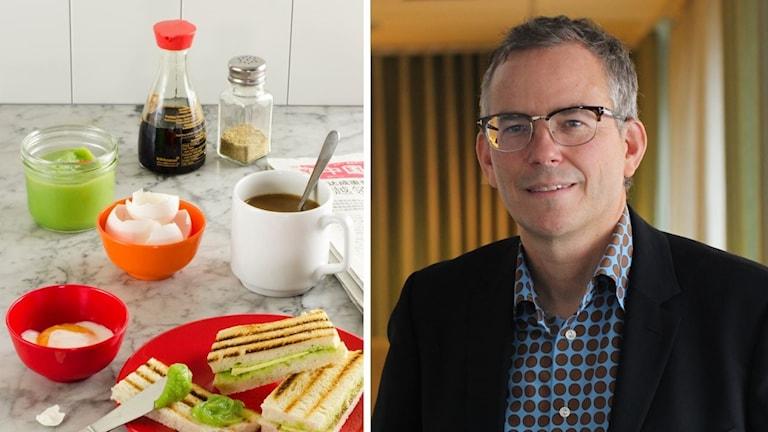 Ulf Ellervik är särskilt förtjust i den singaporianska frukosten bestående av kaya, löskokt ägg och sött kaffe.
