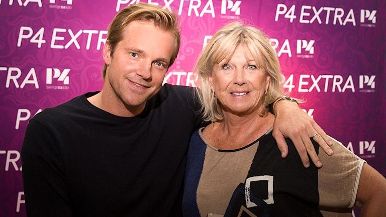 Ann-Louise Hanson och Henrik Johansson
