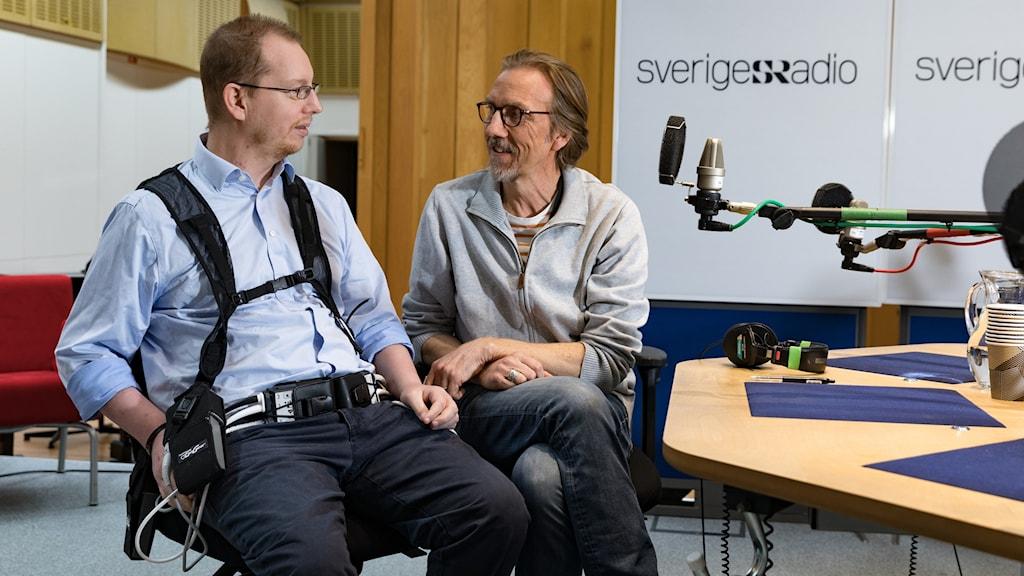 Emil Johansson och Erik Blix
