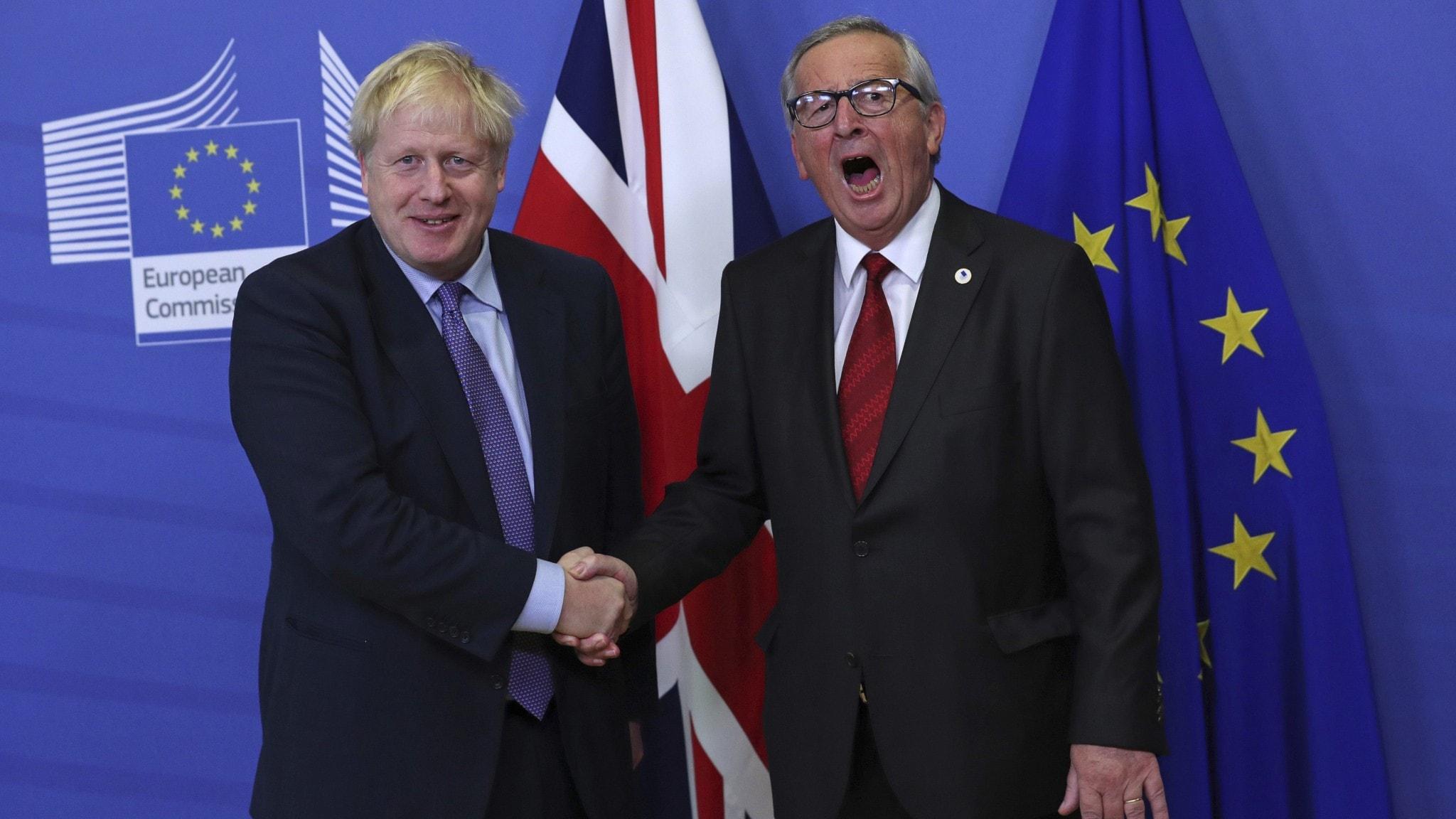 Avtal klart mellan EU och Storbrittanien om Brexit