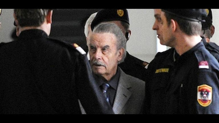 Österrikaren Josef Fritzl erkände allt han anklagats för inkl mord. Foto: Scanpix