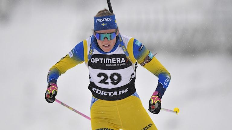 Hanna Öberg i spåret