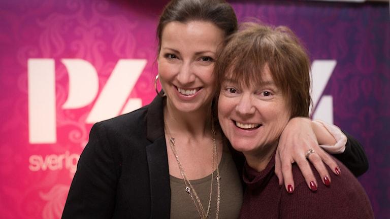 Sonja Aldén och Lotta Bromé