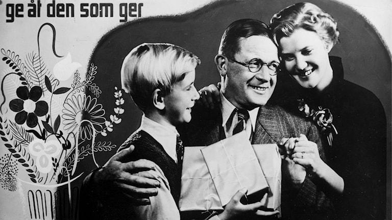 Fars dags-affisch från 1936